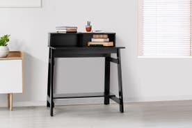 Shangri-La Compact Office Desk - Black