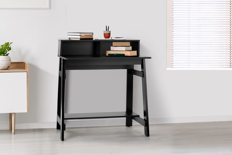 Shangri-La Compact Office Desk - Black