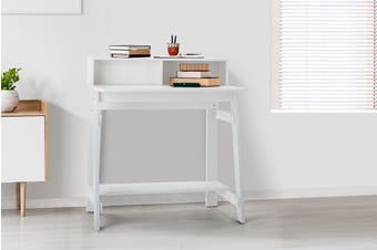 Shangri-La Compact Office Desk - White