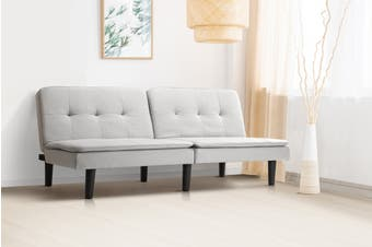Shangri-La Odense 3 Seater Sofa Bed (Grey)