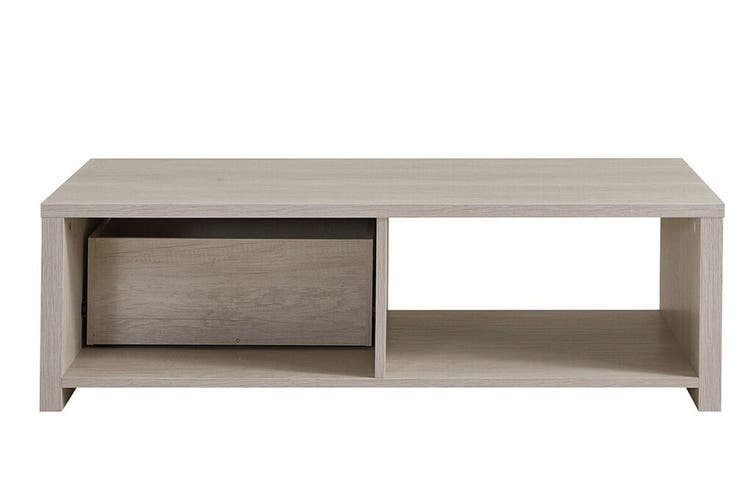 Shangri-La Coffee Table with Storage - Alta Collection (Dusky Oak)