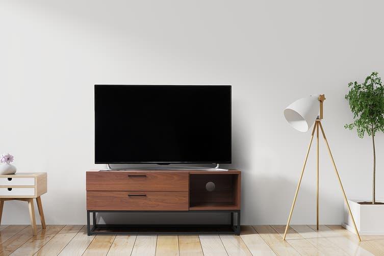 Shangri-La TV Entertainment Unit - Dobson Collection (120cm, Walnut)