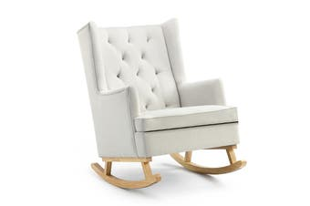 Shangri-La Charlotte Rocking Chair (Beige)