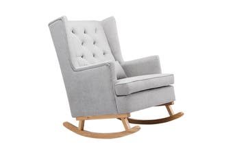 Shangri-La Charlotte Rocking Chair (Grey)