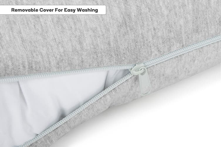 Trafalgar C Shaped Maternity Pillow with Jersey Cover