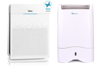 Ausclimate Winix Winter/Asthma Bundle with Zero+ Pro 5-Stage Air Purifier & 10L Desiccant Dehumidifier