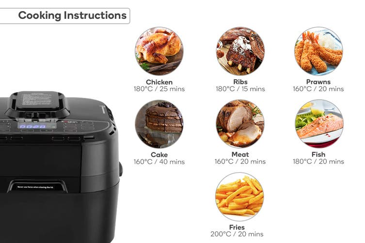 Kogan 10L Digital Multifunction Air Fryer