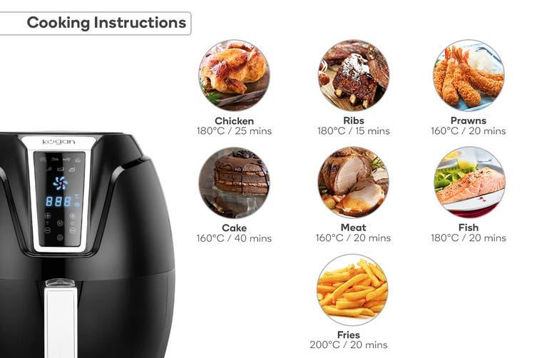 Kogan 4.2L Digital Low Fat 1400W Air Fryer