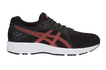 ASICS Women's JOLT 2 Running Shoes (Black/Flash Coral, Size 6.5)