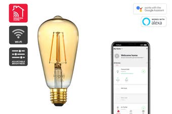 Kogan SmarterHome™ 5W Smart Dimmable LED Filament Bulb ST-20 (E27)