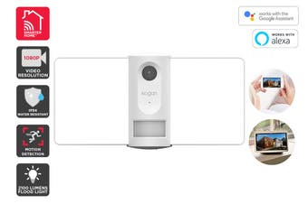 Kogan SmarterHome™ IP54 Outdoor Smart Wi-Fi Flood Light Security Camera