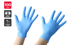 Disposable Nitrile Powder-Free Gloves (100 Pack, Large)