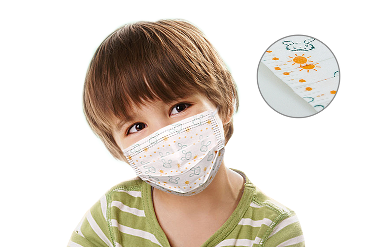 3 Ply Kids Protective Disposable Face Mask (50 Pack)