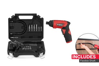 Certa 3.6V Cordless Drill and Screwdriver with Flexible Shaft