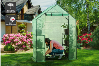 Certa Walk-In Greenhouse (1.95m x 1.43m x 0.73m)
