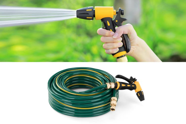 Certa Garden Hose with Spray Gun (30m)