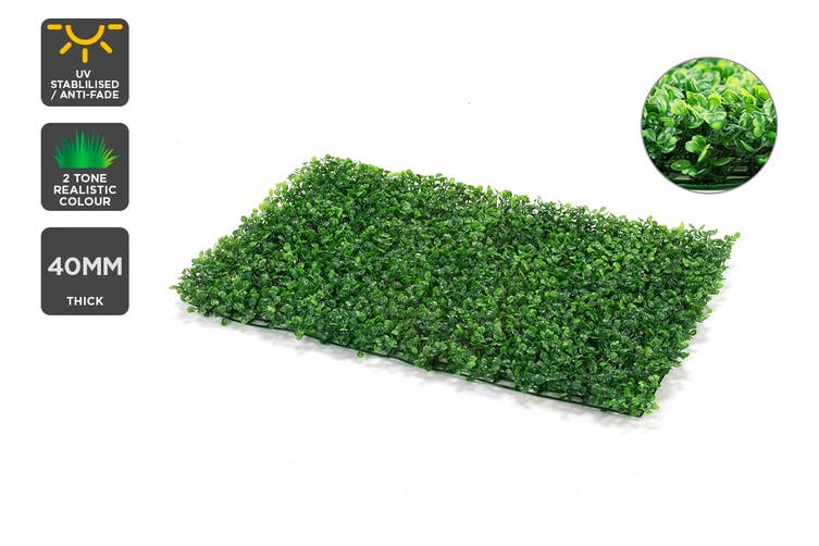 Certa Garden Wall Artificial Boxwood Hedge Mat