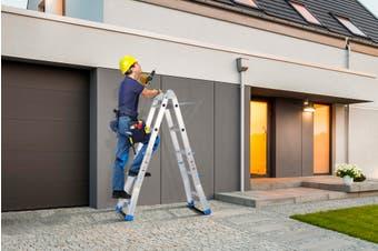 Certa Multi Purpose Foldable Ladder with Platform 2.8m