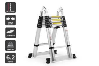 Certa 6.2m Telescopic Foldable Ladder