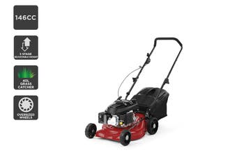 "Certa 17"" 146cc 2-in-1 Petrol Lawn Mower"