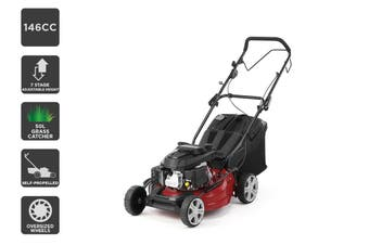 "Certa 18"" 146cc 4-in-1 Self Propelled Petrol Lawn Mower"