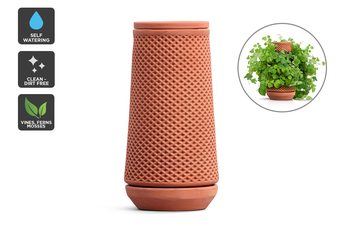 Certa Self-Watering Terracotta Ceramic Planter