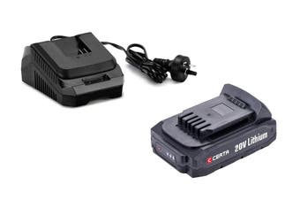 Certa PowerPlus 20V 2.0Ah Charger Combo