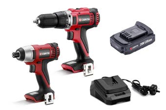 Certa PowerPlus 20V 2 Piece Drill and Driver Set