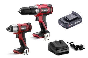 Certa PowerPlus 20V 2 Piece Drill and Driver Set