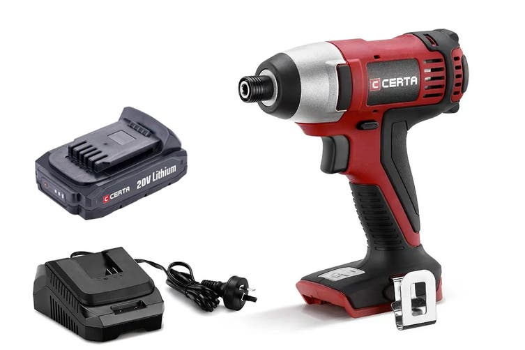 Certa PowerPlus 20V Cordless Impact Driver Pack