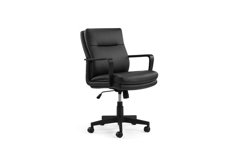Ergolux Charleston Office Chair (Black)