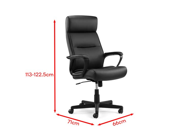 Ergolux Columbia Office Chair (Black)