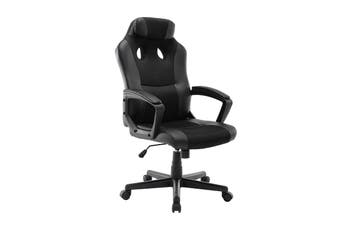 Ergolux Dexter Gaming Chair (Black/Black)