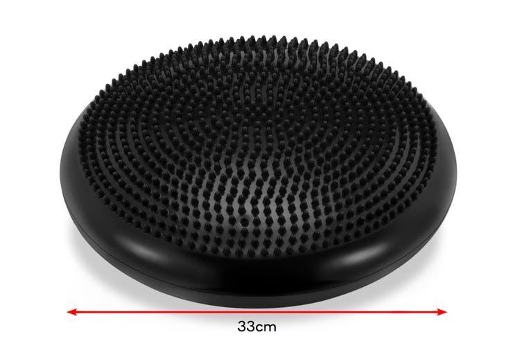 Ergolux Core Trainer Cushion for Office Chair (Black)