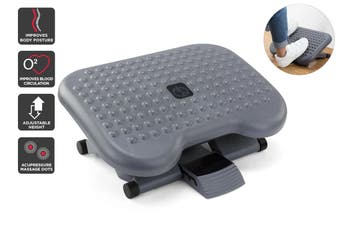 Ergolux Ergonomic Adjustable Footrest (Grey)