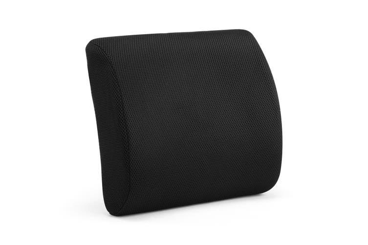 Ergolux Lumbar Support Back Cushion (Black)