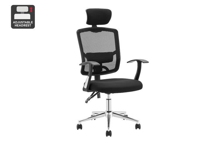 Ergolux Endever Ergonomic Chair (Black)