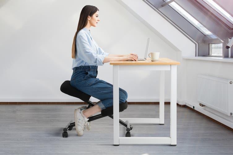 Ergolux Kneeling Chair (Black/Black)
