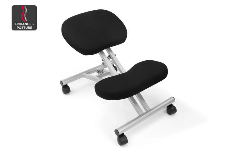 Ergolux Kneeling Chair (Silver/Black)