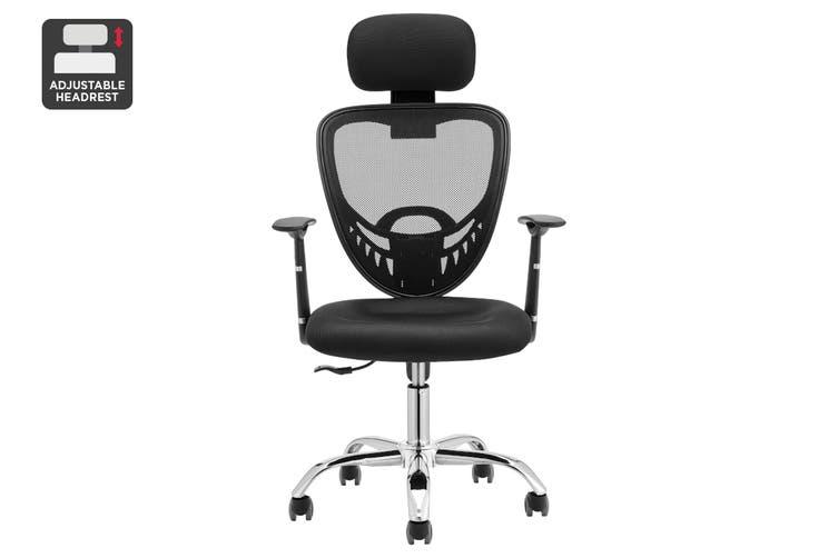 Ergolux Everyday Ergonomic Chair (Black)