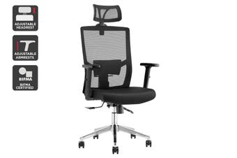 Ergolux Everest Ergonomic Chair (Black)