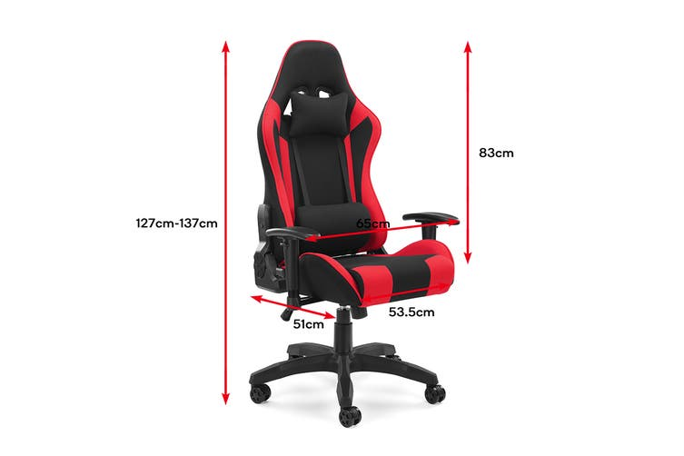Ergolux Reaper Gaming Chair (Red)