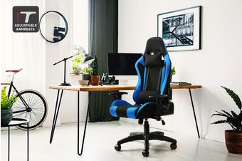 Ergolux Reaper Gaming Chair (Blue)