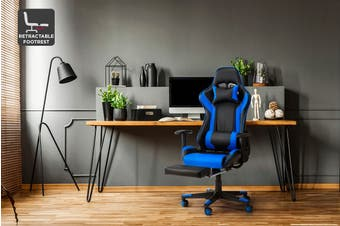 Ergolux Kevlar Gaming Chair (Blue)