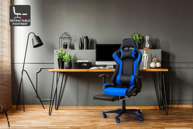 Ergolux Kevlar Gaming Chair (Blue)