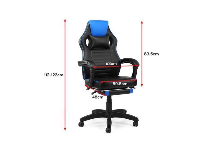 Ergolux Tempest Gaming Chair (Blue)
