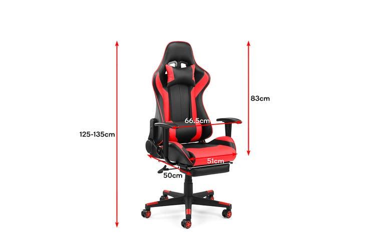 Ergolux Kevlar Gaming Chair (Red)
