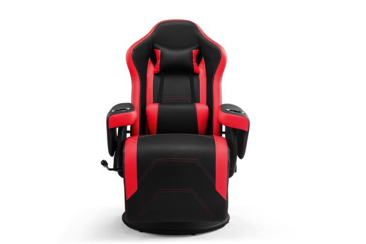 Ergolux Hotshot Recliner Gaming Chair (Black/Red)