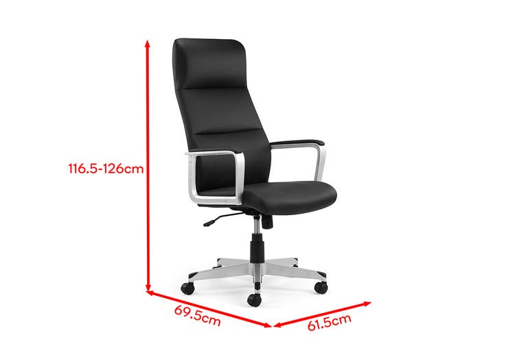 Ergolux Manhattan Office Chair (Black)
