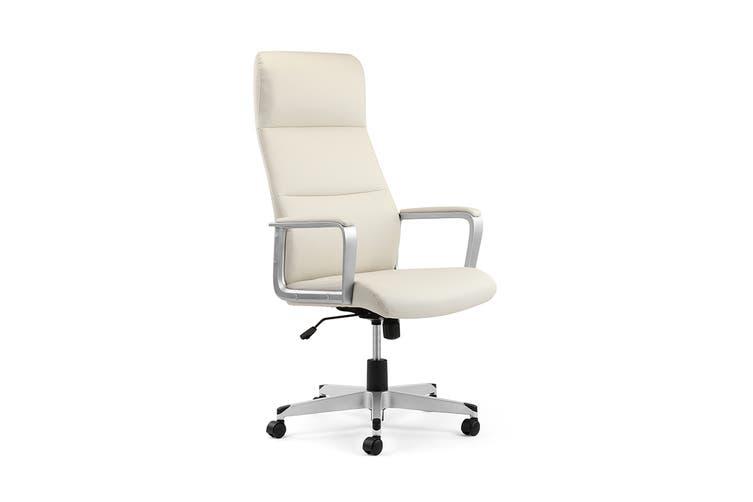 Ergolux Manhattan Office Chair (White)